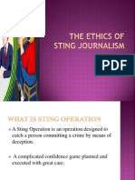 ethics of string journalism