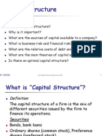 196.Capital Structure Intro Lecture 1
