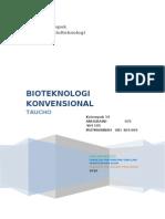 Laporan Bioteknologi