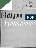 Desde La Religion Al Humanismo
