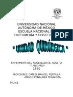 Unida Quirúrgica Manual