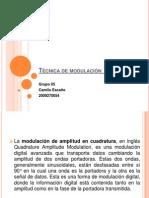 Técnica de modulación  8-QAM