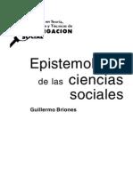 Epistemologia de Las Ciencias Sociales - Guillermo Briones