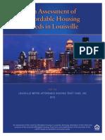 LAHTF Needs Assessment 2012