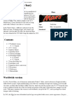 Mars (Chocolate Bar) - Wikipedia, The Free Encyclopedia