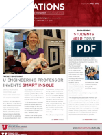 U of Utah Innovations Newsletter - Fall 2012