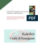 RadioWeb Guide Pedagogique
