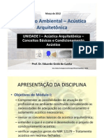 Conf Amb Acustica Arq Aulas 01 a 04