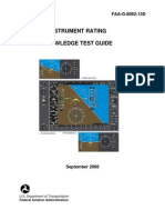 Instrument Rating Knowledge Test Guide Faa-g-8082-13d
