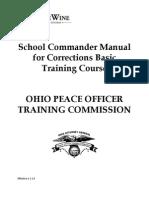 Corrections Basic Training Commander Manual Effective 1-1-13