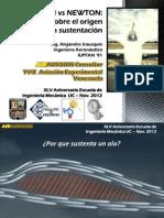 Bernoulli vs Newton - Ing. Alejandro Irausquin. Universidad de Carabobo Nov 2012