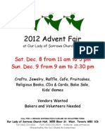Advent Fair 2012