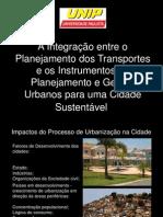 Planejamento e Gestão Urbanos para uma Cidade Sustentável