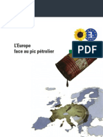 L'Europe Face Au Pic Petrolier
