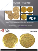 Sadigh Gallery's Gold Coins Collection