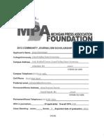 Az 2012 Mpa Community Journalism App Pack