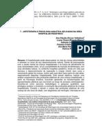 Arteterapia e psicologia analítica aplicadas na área hospitalar pediátrica