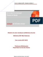 Biblioteca EB1 Mãe soberana - Auto Avaliaçã dominio C- 20112012