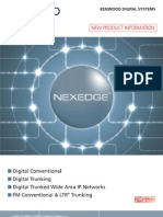 Kenwood NEXEDGE Digital LMR  Overview