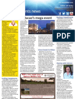 Business Events News for Wed 21 Nov 2012 - Macao\'s mega event, the Texans come to town, free wi-fi, Peppers enchants McCune and much more