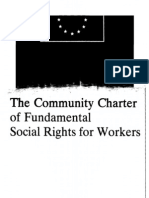 Community Charter of Fundamental Social Rights for Workers