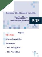Leucemia Linfoide Aguda No Adulto