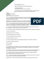 Código de Obras Campo Grande - MS