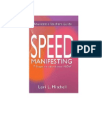 Speed Manifesting by Lori Mitchell
