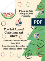 Tag Christmas Art Show '12