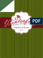 2012 Winterfest Schedule - Suncadia