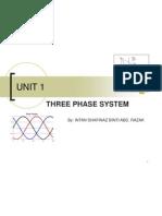 Unit1_3 Phase System