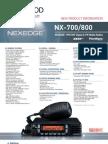Kenwood NEXEDGE Digital LMR UHF/VHF Mobiles