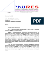 Nov 15 - PhilRES Letter to PRC re