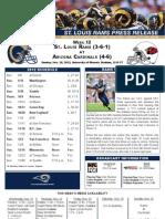 Week 12 - Rams at Cardinals