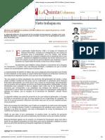 20-11-12 Quinta Columna - Moreno Valle y Peña Nieto trabajan en presupuesto 2013
