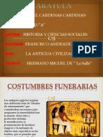 Costunmbres Religiosas de Los Egipcios Para Enterrar a Los Muertos