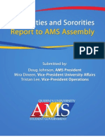 Nov. 22 Report to AMS Assembly, Re