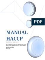 Manual Haccp- Bocadillo