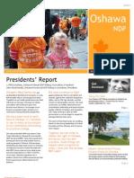 Oshawa NDP Newsletter