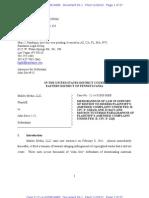11.20.12 Motion to Dismiss Malibu Media, LLC's Amended Complaint (Bellwether)