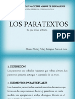 Elementos de Los Paratextos