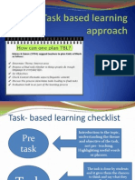 Task Based Learning Approach