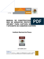 Manual y Contruccion de La Red de Arrastre _ Prototipo