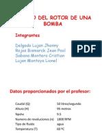 DISEÑO DEL ROTOR DE UNA BOMBA