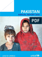 UNICEF Pakistan 2010 Annual Report - Low Res