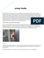 Detecting Bearing Faults