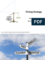 12. Pricing Strategy