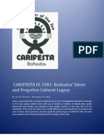Carifesta IV, 1981