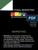 International Marketing Aditi
