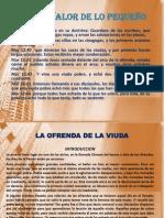 EL GRAN VALOR DE LO PEQUEÑO